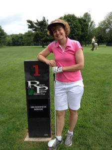 britta the golfer